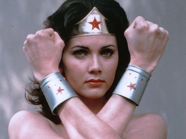 True or False: Wonder Woman's bracelets enhance her powers.