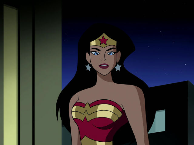 Which superhero group is Wonder Woman a founding member of?