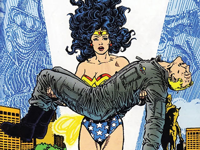Wonder Woman has almost exclusively dated Steve Trevor throughout her documented adventures.