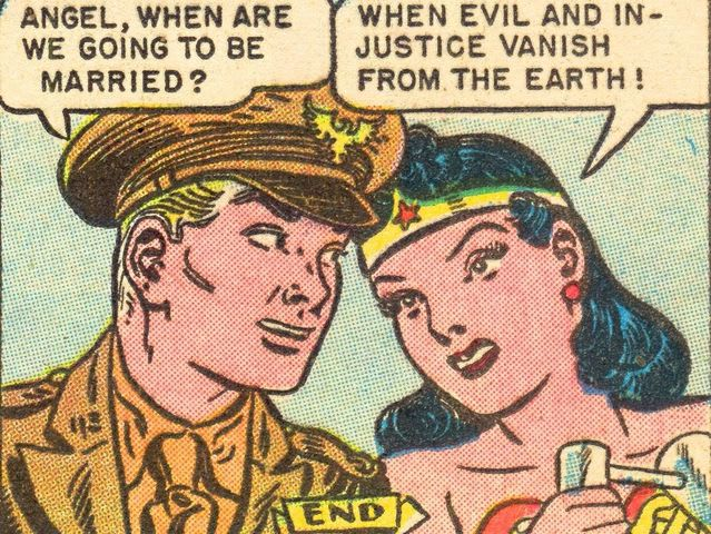 Who is Wonder Woman's traditional love interest?