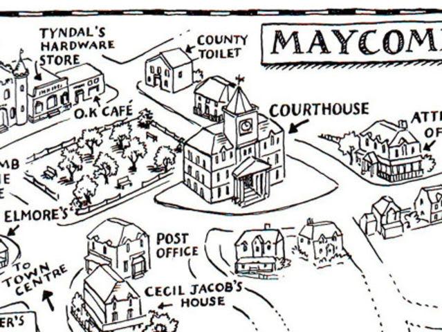 100+ Kill Mockingbird Maycomb County Map – yasminroohi