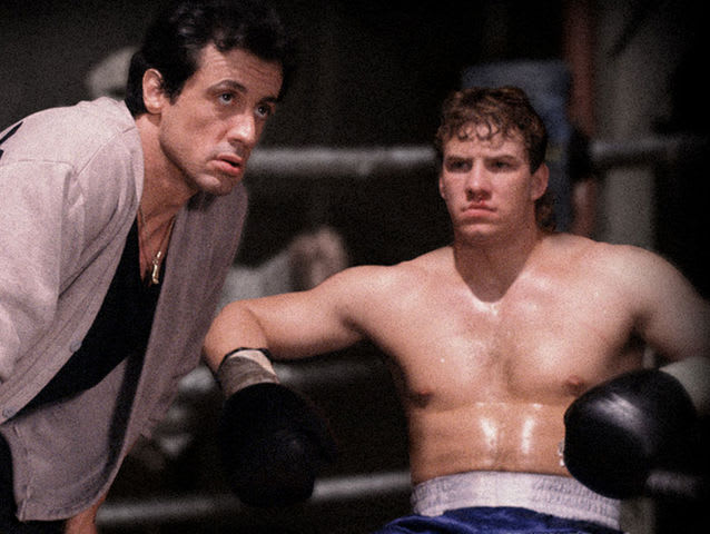 Come si chiama l'allievo di Rocky Balboa in Rocky V?