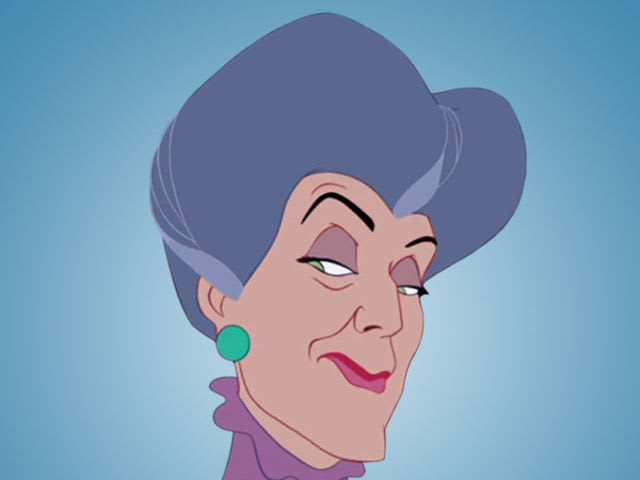"It's Lady Tremaine from ""Cinderella""!"