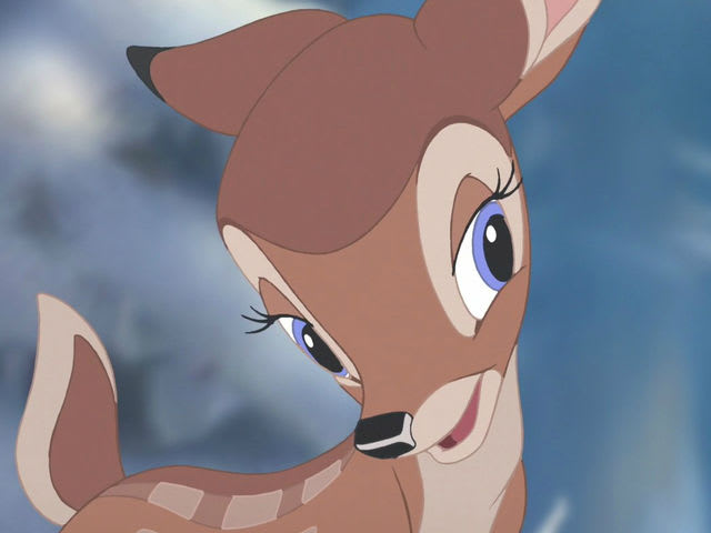"It's Faline from ""Bambi""!"