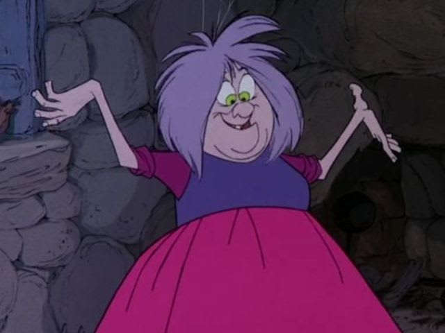 "It's Madam Mim from ""The Sword In The Stone""!"