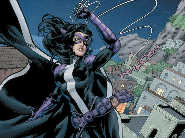 What was the Huntress's original last name?