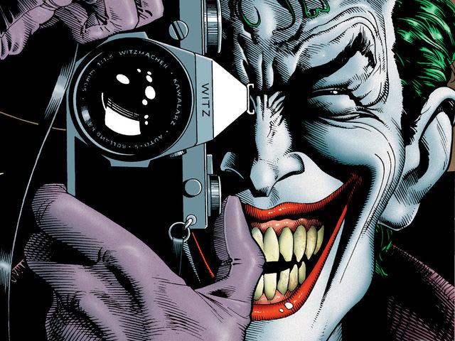 "Who got shot during ""The Killing Joke"" storyline?"