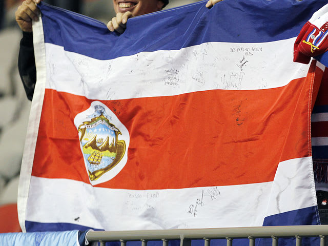 Which World Cup participant's flag is this?