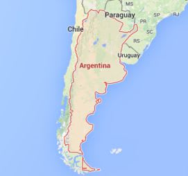 Do You Know Where The Biggest Land Formations On Earth Are Located - Argentina landforms map