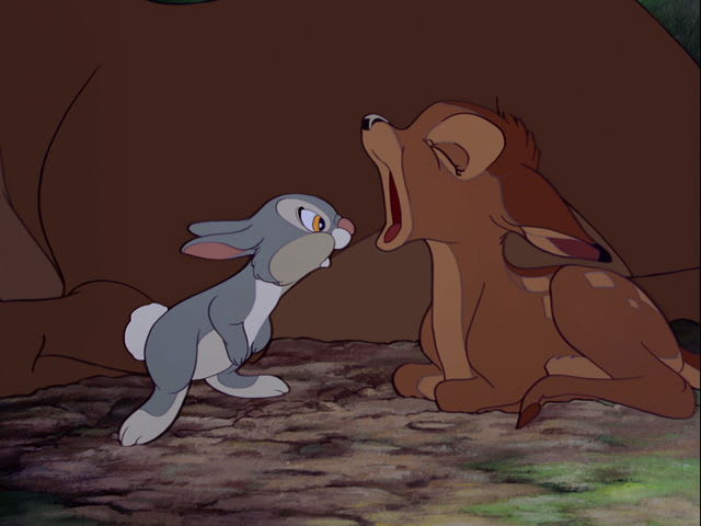 Who is this Thumper's best friend in the forest?