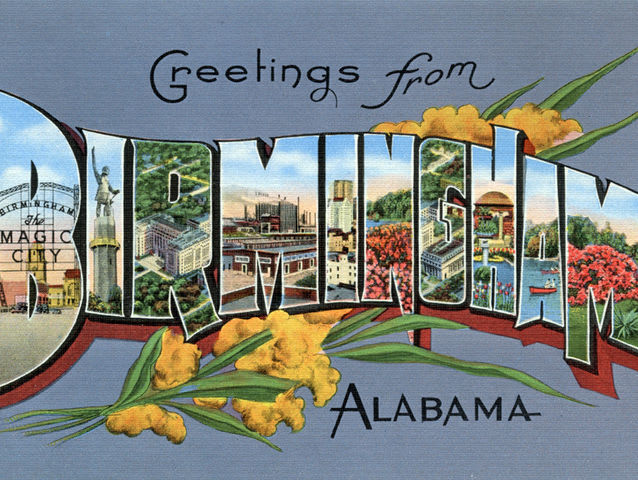 Birmingham and Montgomery are both Alabama cities, but the latter is the capital!