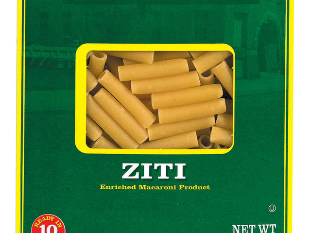 "Now surely they don't refer to food in the Sopranos when they say ""A box of ziti""... So what are they refering to?"