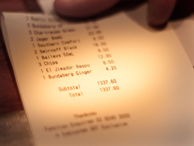 Which U.S. holiday racks up the biggest bar tabs nationally?
