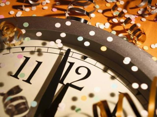 """Auld lang syne"" translates from Scottish to mean ""times gone by""!"