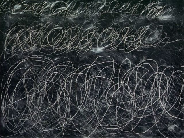 This is the work of 'Cy' Twombly.