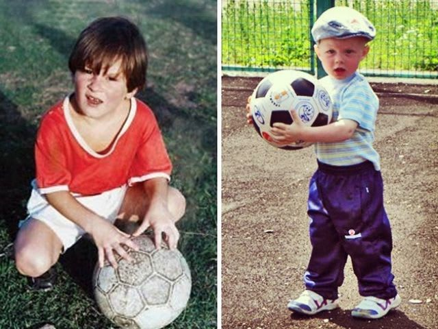 Which of these boys will become a star of world football?