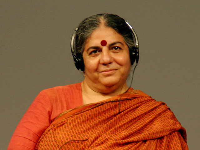 "Dr. Vandana Shiva often ridicules opponents in GMO debates as unqualified to comment because of a lack of relevant scientific education.  In what field did ""GMO expert"" Shiva earn her PhD?"