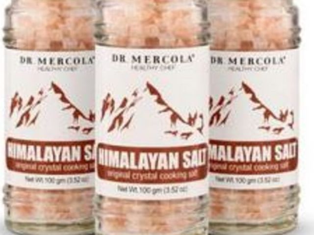 Speaking of Dr. Mercola, which toxic metals, that he preaches cannot be easily removed from the body when ingested, are listed as ingredients in his Pink Himalayan Salt?