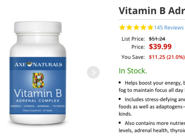 """Doctor"" Josh Axe sells this vitamin supplement that contains a compound he vehemently links to cancer.  What is that compound?"