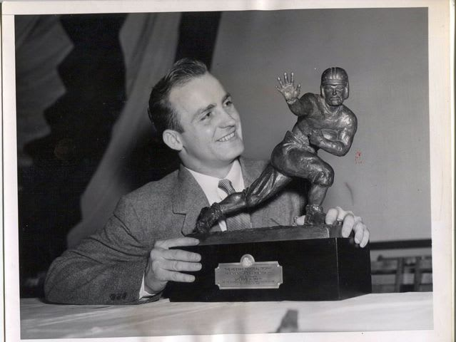 What was the original Heisman trophy called?