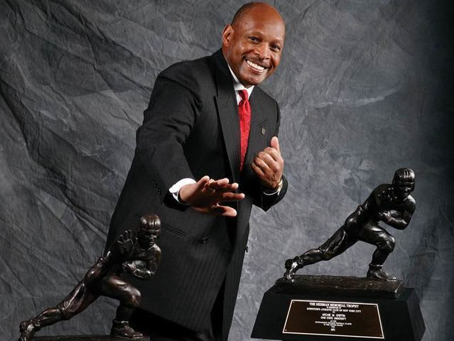 Archie Griffin won the award in back to back seasons: 1974-75.