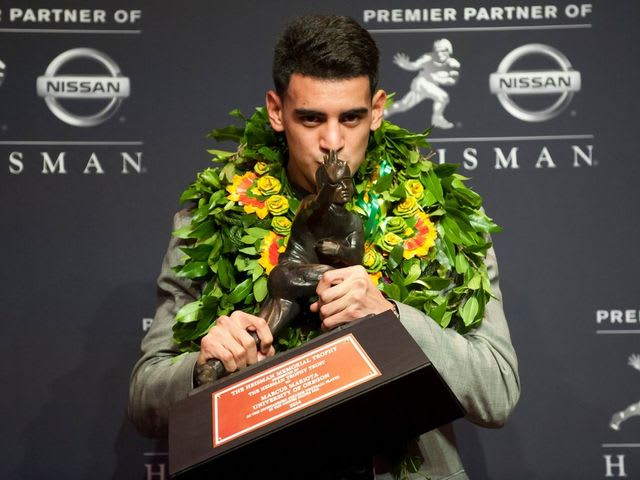 Mariota was also the first Oregon Duck to ever win the trophy.