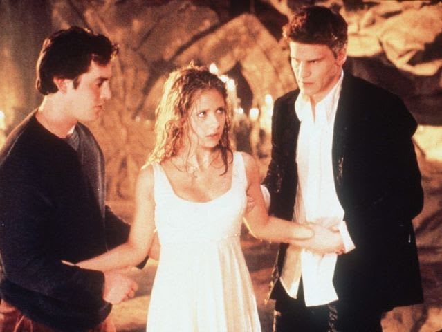 when do buffy and angel meet
