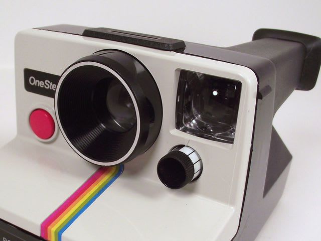 Polaroid OneStep cameras were a type of camera that instantly generated a developed photograph. They were popular in the 1970s and 1980s.