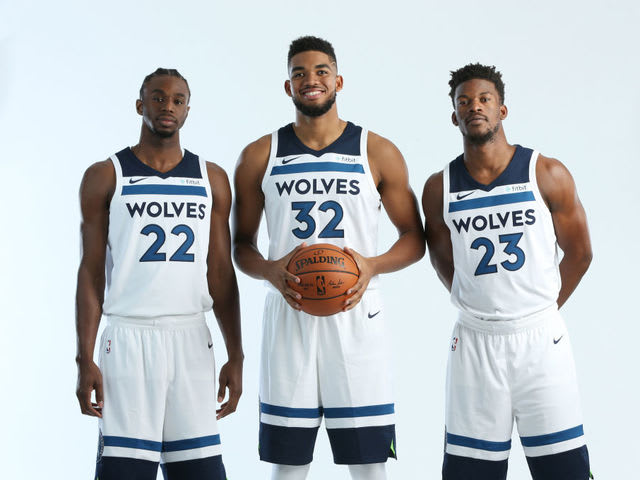 This is the only player of the 3 to be drafted by the Timberwolves: