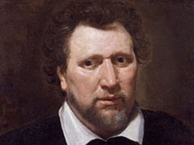 When did Ben Jonson extol the Bard's virtues and talents?