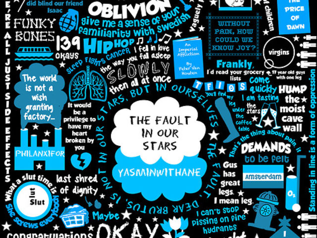 What did Hazel Grace use her wish from the genies on in TFIOS?