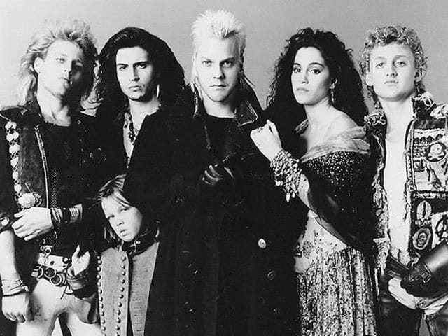 """Lost Boys"" is not only a gang of never-growing-up kids, but also a movie about vampires. Got the metaphor?"