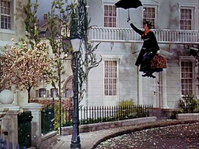 "Which house number in Cherry Tree Lane the Banks family owned in ""Marry Poppins""?"