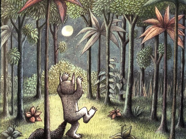 "How many words does the book ""Where the Wild Things Are"" actually contain?"