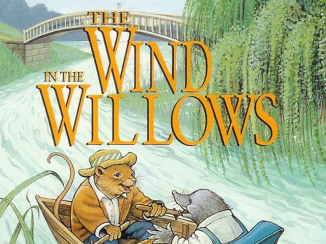 "Who are the four main characters in ""The Wind in the Willows"" by Kenneth Grahame?"
