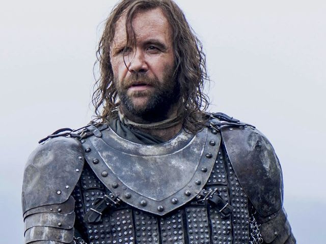 Ah, the Hound. We wanted to use his legendary chicken monologue but it was a bit too rude.