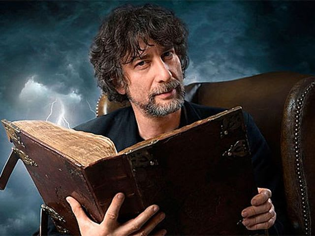 Neil Gaiman wrote Coraline! He's also written plenty of other spookier books for adults and kids alike.
