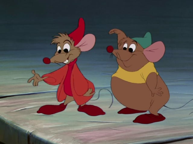 These critters from Cinderella?