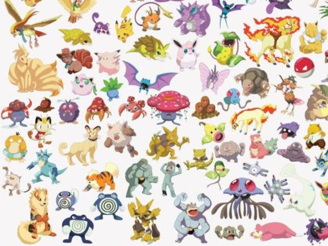 Which Pokemon is not in this image?