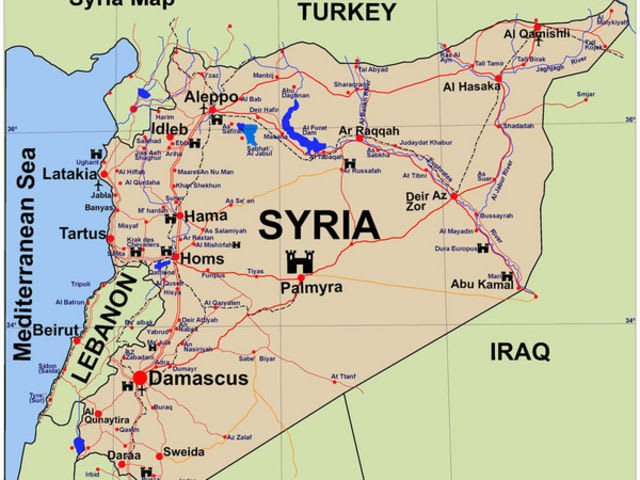 What is the official language of Syria?