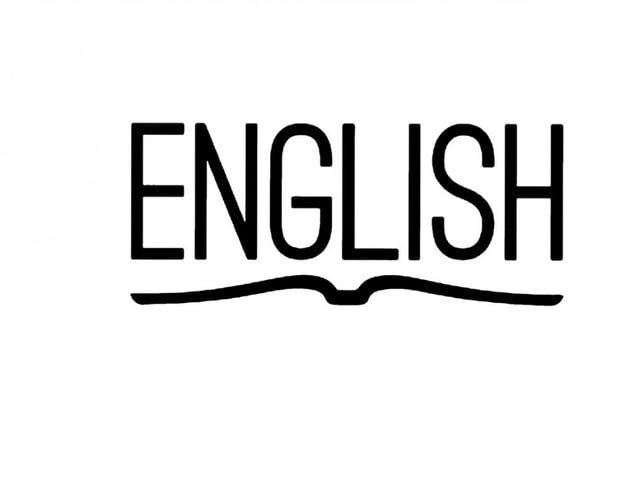 In what country was English first spoken?