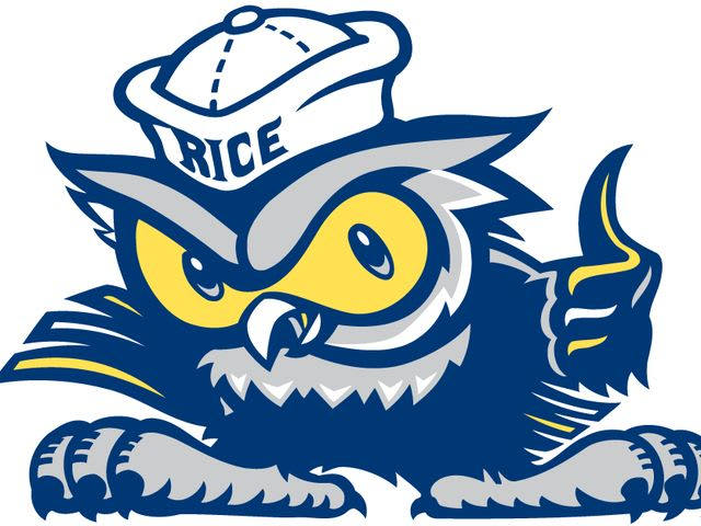 What is the mascot of Rice University?
