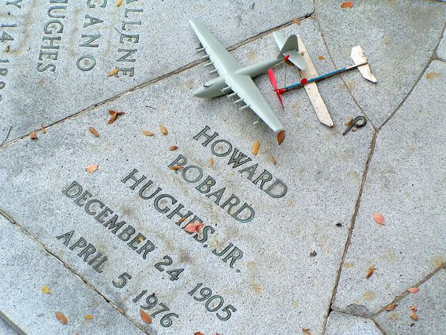 Where is Howard Hughes buried?