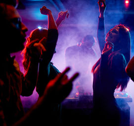 Spend the night dancing at the best clubs around.