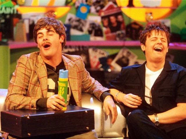Who presented SM:tv Live together with Ant and Dec?