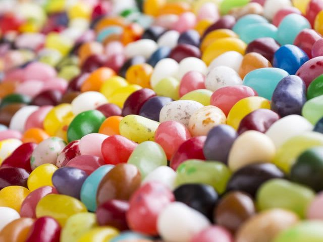 Choose a flavour of jelly bean: