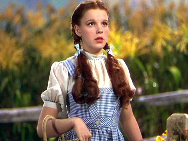 What were Dorothy's shoes made of?