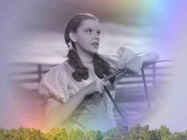 What song does Dorothy sing in this scene?