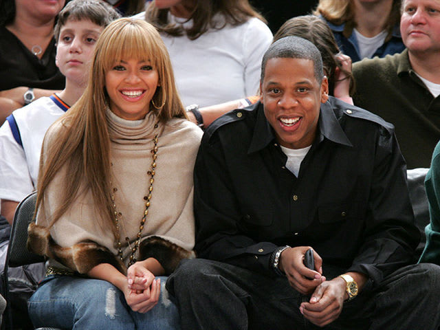beyonce and jay z when they first started dating