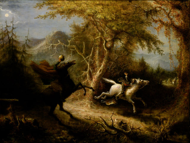 The Legend of Sleepy Hollow and the headless horseman is based on an actual 1811 race in which a jockey was accidentally decapitated as he rode toward the finish line.